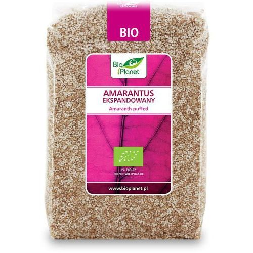 Bio planet Amarantus ekspandowany bio 150g -