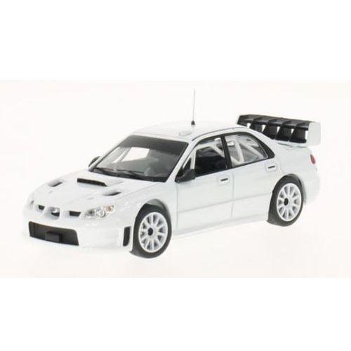 Subaru impreza s12b plain body version 2008 (white, including 4 spare wheels) - marki Ixo