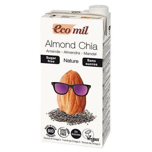Napój migdałowy niesłodzony z chia bio 1 l eco mil marki Ecomil