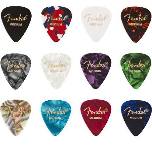351 celluloid medley (12) medium kostka marki Fender