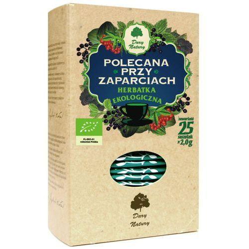 Dary natury Herbata polecana przy zaparciach eko
