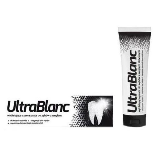 Aflofarm Ultrablanc wybielająca pasta do zębów z węglem aktywnym 75ml