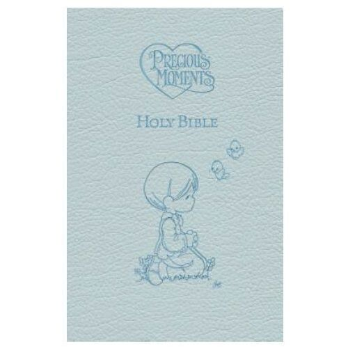 ICB, Precious Moments Holy Bible, Leathersoft, Blue (9781400316656)