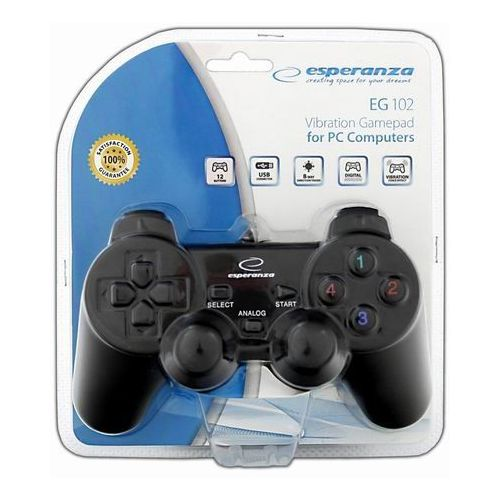 Esperanza Gamepad / kontroler vibration eg102 warrior (5905784767147)