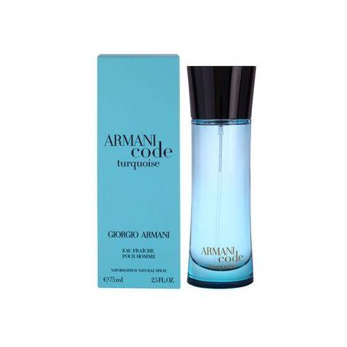 Giorgio armani  armani code turquoise men 75ml edt