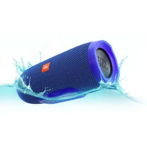 Głośnik mobilny JBL Charge 3 Niebieski Wodoodporny IPX7 + DARMOWY TRANSPORT!, JBL Charge 3 blue