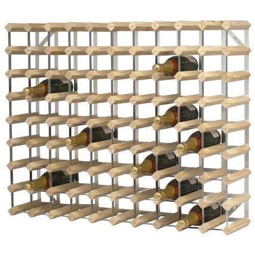 Drewniany stojak na wino | 81x23x(H)100cm