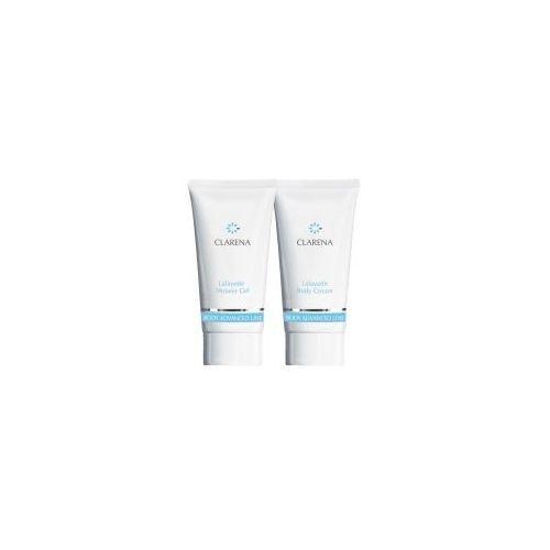 Clarena Advanced Body Line LaFayette, mini zestaw do skór atopowych Body Cream 30ml+Shower Gel, 30ml, 20683