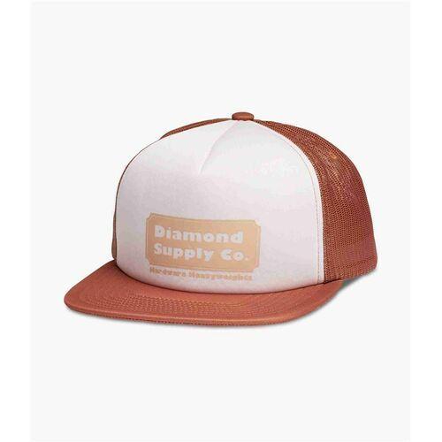 Diamond Czapka z daszkiem - hardware trucker hat w/ rope brown (brn) rozmiar: os