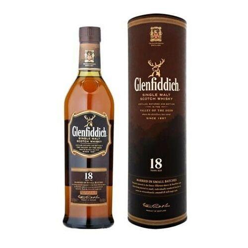 Whisky Glenfiddich 18YO 40% 0,7l TUBA