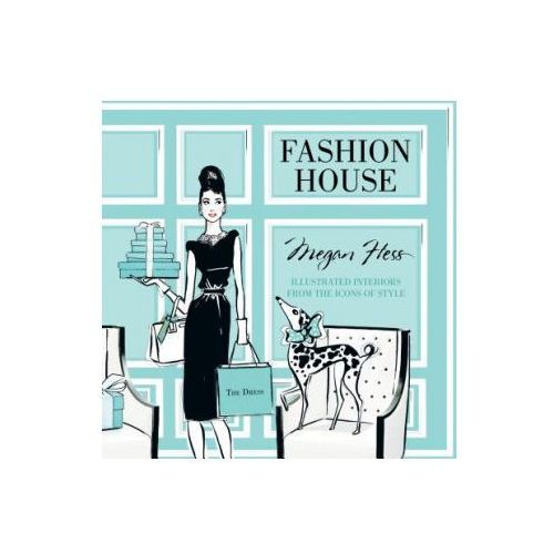 Hardie grant books Fashion house: illustrated interiors from the icons of style (small format)