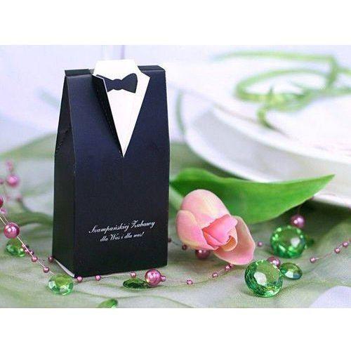 Ap Pudełeczka dla gości weselnych - frak - 10 szt. (5901157416681)