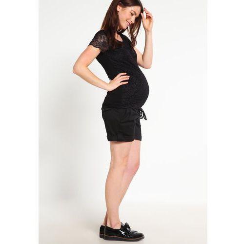 Queen Mum Tshirt z nadrukiem black, rozmiar od 36 do 44, czarny
