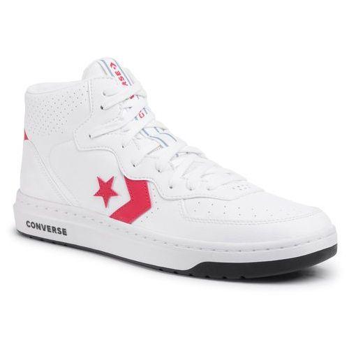 Sneakersy - rival mid 167081c white/university red/black marki Converse