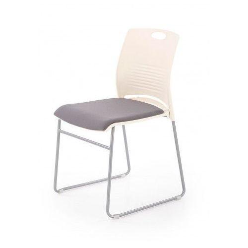 Fotel konferencyjny memos - biały + szary marki Elior.pl