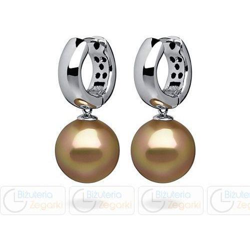 FC Kolczyki z perłą wiszące 3061221008 PM 12 kolor złoty