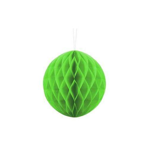 Dekoracja wisząca kula zielone jabłko - 20 cm - 1 szt.