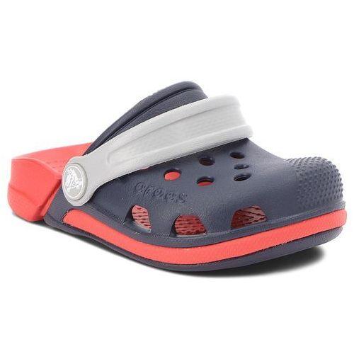 8a3fd2182aa32 Klapki - electro iii clog k 204991 navy/flame marki Crocs 129,00 zł W tych  klapkach producenta Crocs Twoje dziecko poczuje się wyjątkowo wygodnie.