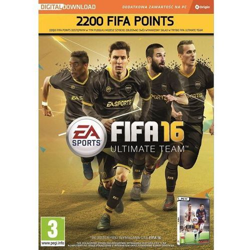 Electronic arts, inc. Fifa 16 2200 points pc (5030933121720)