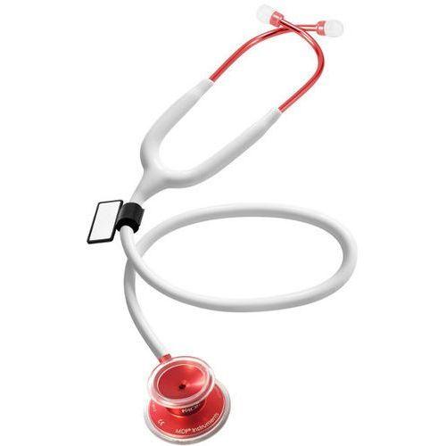 Lekki stetoskop internistyczny acoustica 747xp icolor - biały - czerwony marki Mdf
