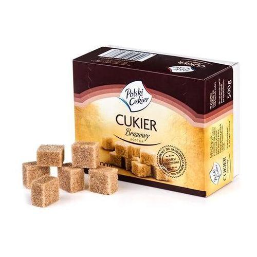 Cukier Brązowy Kostka Trzcinowy 500 g., CTK05KG