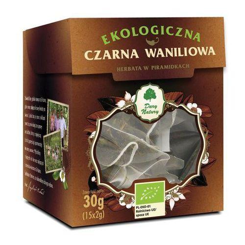 Dary natury - test Herbata czarna waniliowa piramidki bio (15 x 2 g) - dary natury (5902581617385)