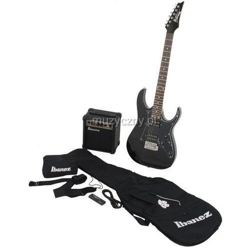 ijrg 200 bk jumpstart gitara elektryczna + wzmacniacz + pokrowiec marki Ibanez