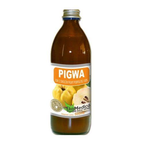 Eka medica pigwa 100% sok z owoców pigwy 500ml marki Eko medica