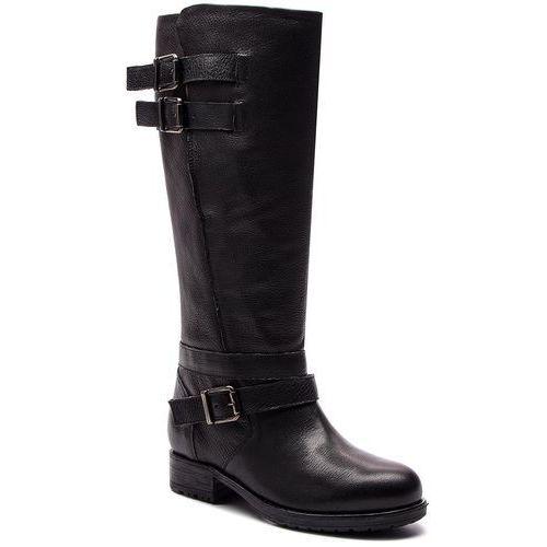 Oficerki CLARKS - Adelia Dusk 261379664 Black Leather, w 6 rozmiarach