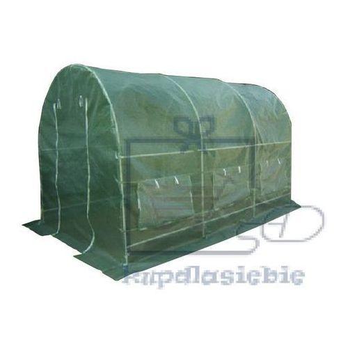 Szklarnia tunel foliowy gardenay 190 x 200 x 450 cm zielony marki Garthen