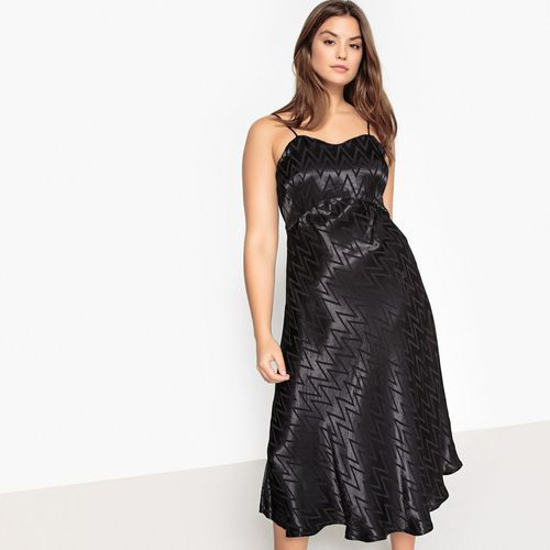 Sukienka rozszerzana na cienkich ramiączkach, Castaluna