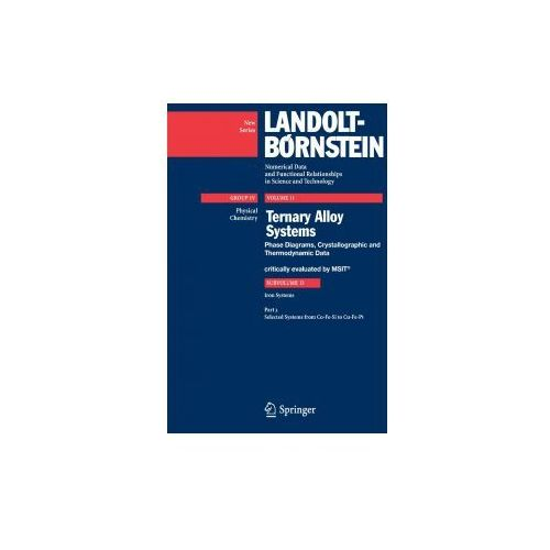 Landolt-Börnstein: Numerical Data and Functional Relationships in Science and Technology - New Series (9783540741978)
