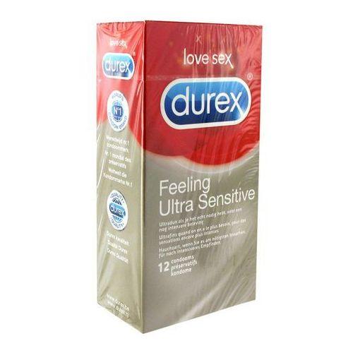Prezerwatywy super cienkie - Durex Feeling Ultra Sensitive Condoms 12 szt