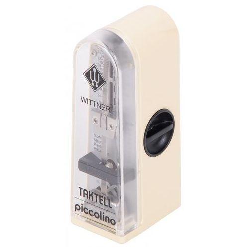 Wittner 890121 903050 piccolino metronom mechaniczny bez akcentu, kolor kość słoniowa