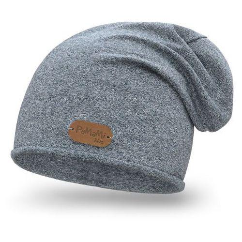 Pamami Wiosenna czapka chłopięca - jeansowy - jeansowy (5902934045865)
