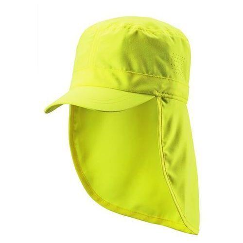 Czapka przeciwsłoneczna UV 50+ Reima ALOHA osłona karku żółta (hello yellow)