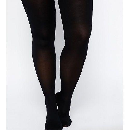 ASOS CURVE Skin Firming Support 50 Denier Tights - Black, kolor czarny