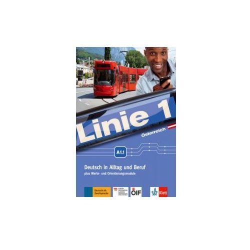 Linie 1 A1.1. Kurs- und Übungsbuch mit DVD-ROM. Ausgabe für Österreich.