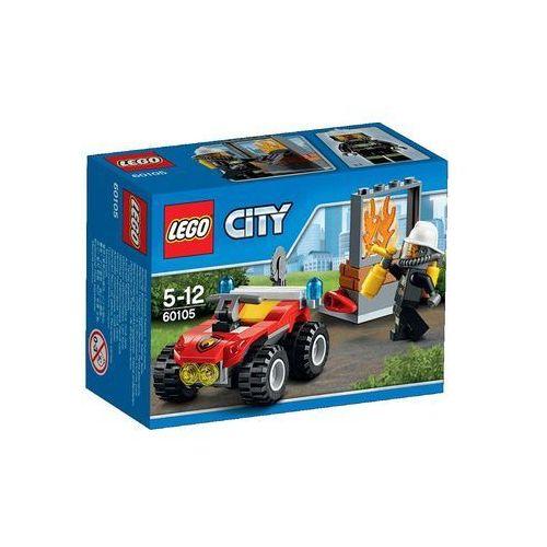 Lego City Strażacki quad z kategorii straż pożarna