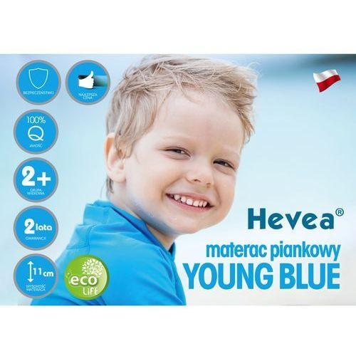 Hevea Materac piankowy young blue 180x80 sklep firmowy hevea w krakowie - rabaty i gratisy sprawdź