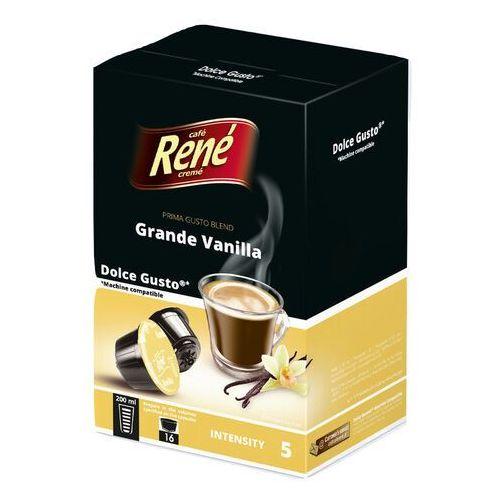 Kapsułki dolce gusto Rene grande vanilla (kawa aromatyzowana waniliowa) kapsułki do dolce gusto – 16 kapsułek (5902480017071)