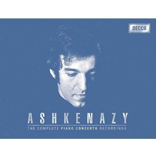 Universal music Complete concerto recordings (46cd + 2dvd) - vladimir ashkenazy (cd + dvd) (0028948317523)