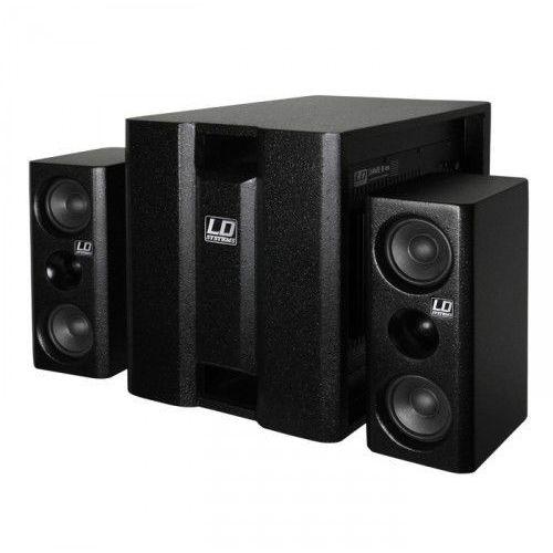 Ld systems dave 8 xs zestaw nagłośnieniowy 150w + 2x100w