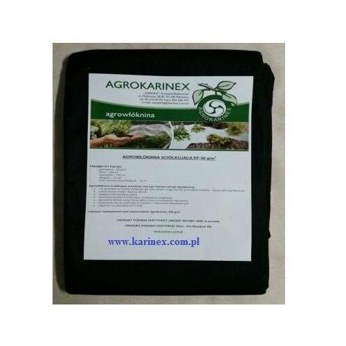 Agrowółknina ściółkujaca PP 50 g/m2 czarna 1,6 x 20 mb. Paczka o wadze 0,9 kg.
