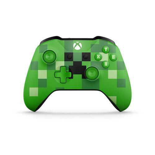 Kontroler MICROSOFT XBOX ONE Minecraft Creeper + Kontroler 20% taniej przy zakupie konsoli xbox! + Zamów z DOSTAWĄ JUTRO! + DARMOWY TRANSPORT!