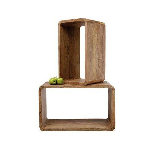 Półka Authentico Cube Rectangular (2/Set) - sprawdź w Design-store.com.pl