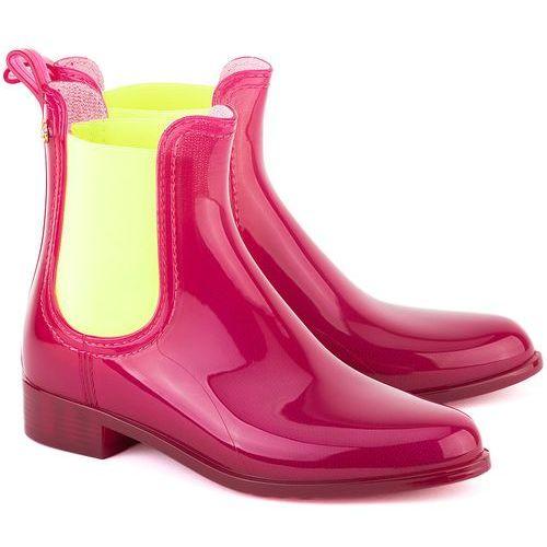 LEMON JELLY PISA 04 - Różowe Gumowe Kalosze Damskie, kolor różowy