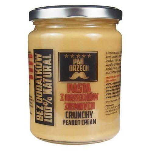 Pan orzech Pan zdrówko pasta z orzechów ziemnych crunchy - 500g