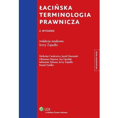 Łacińska terminologia prawnicza (9788326441158)