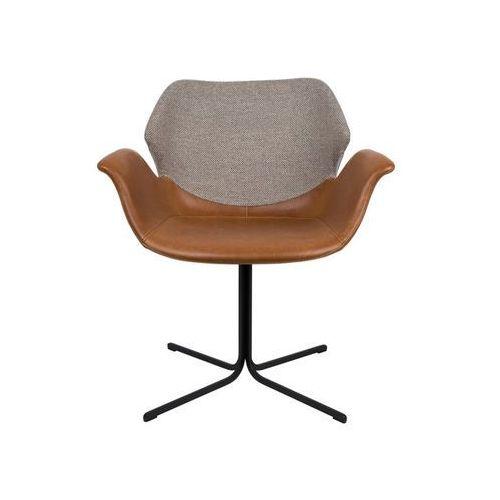 Zuiver Krzesło nikki - różne kolory brązowo-jasnoszary